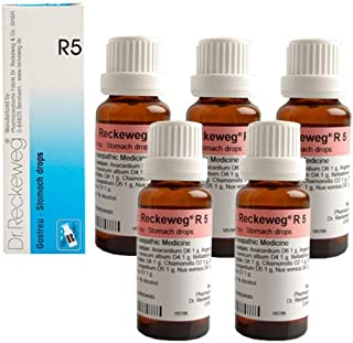 Dr.Reckeweg Germany R5 Stomach Drops Pack of 5
