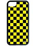 Wildflower Limited Edition Cases for iPhone 6, 7, or 8 (Yellow Checkers)