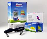 MISSION Misuratore COLESTEROLO 4IN1 Starter Kit (HDL, LDL, ColesteroloTotale,...