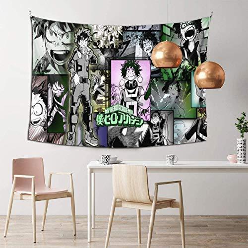 Bnha Kirishima - Tapiz decorativo para colgar en la pared para dormitorio, sala de estar, dormitorio, hogar, 152 x 100 cm