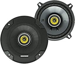 KICKER CS Series CSC5 5.25-Inch Car Audio Speaker with Woofers, Yellow (2 Pack)