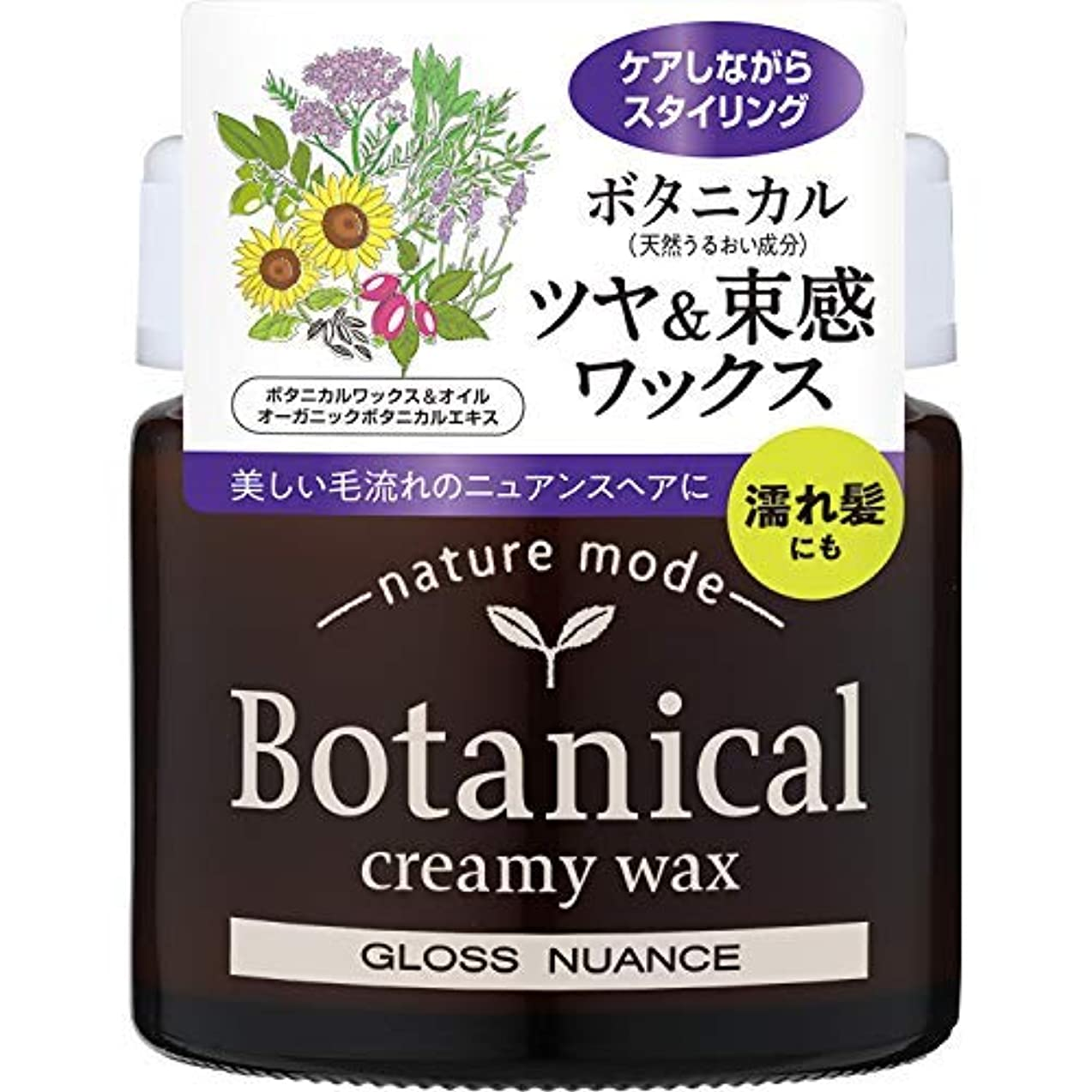 ヒギンズ植生思春期のネイチャーモード ボタニカル クリーミーワックス<グロスニュアンス> × 6個セット