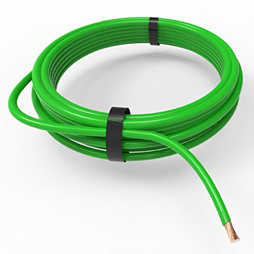 AUPROTEC Fahrzeugleitung 0,50 mm² FLRY-B als Ring 5m oder 10m Auswahl: 10m, grün