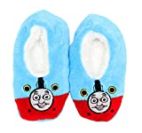 Thomas & Friends Little Boys Slipper Socks (Boys 4-7), Red/Blue