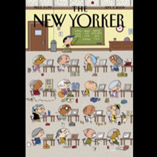 The New Yorker, September 7, 2009 (Adam Gopnik, Jane Kramer, Caleb Crain) audiobook cover art