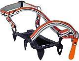 Climbing Technology Mini Crampon Ramponcino 6 P, Nero,