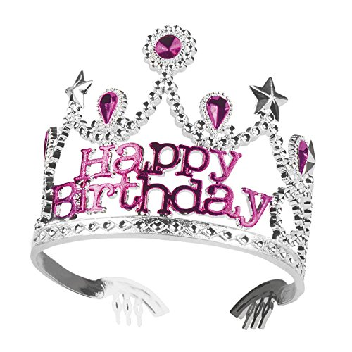 Boland 44077 Couronne Happy Birthday, One Size