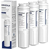 3-Pack Crystala Ukf8001 Maytag Refrigerator Water Filter