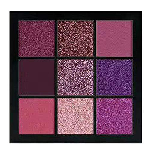 Battnot Lidschatten Palette 9 Farben Cosmetic Matte Eyeshadow Cream Makeup Palette Shimmer Set...