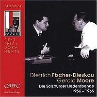 Salzburger Liederabende 1956-1965 by SCHUBERT / SCHUMANN / BRAHMS / WO (2005-05-06)