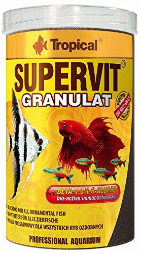 TROPICAL supervit Granulés Premium de Nourriture Principale pour Tous Les Poissons décoratifs, 1er Pack (1 x 10 l)