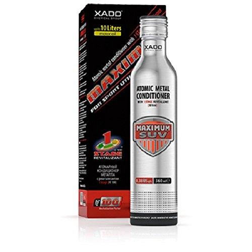 XADO Maximum SUV, aditivo para el aceite - protección para motor contra el desgaste - regenera, con aditivo Revitalizant (para motores con más de 5L de aceite)