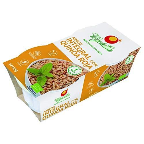 Vegetalia, Arroces envasado (Quínoa Roja) - 8 de 250 gr. (Total 2000 gr.)