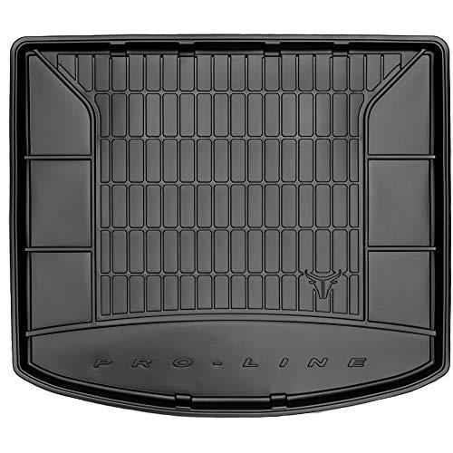 DBS Tapis de Coffre Auto - sur Mesure - Bac de Coffre pour Voiture - Rebords Surélevés - Caoutchouc Haute qualité - Antidérapant - Simple d'entretien - 1766585