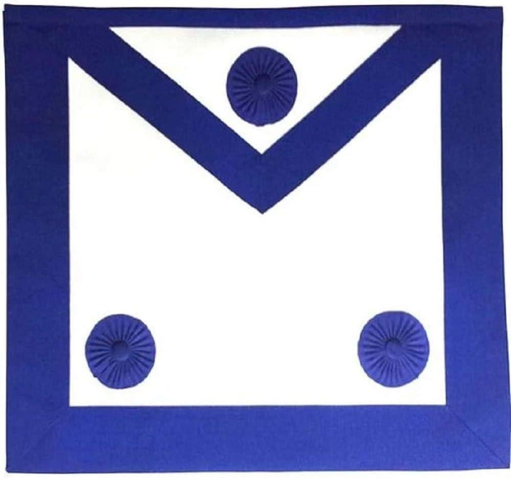 Regalia Lodge Branded goods Masonic Master Product Mason Lambskin Apron Blue Royal