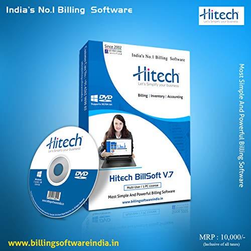 HITECH GST BILLING SOFTWARE (Offline Lifetime Version)...