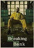 Breaking Bad Film Retro Poster Vintage Kraftpapier Retro