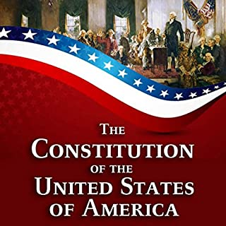 The Constitution of the United States of America audiobook cover art