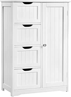 Best small bathroom storage units free standing Reviews