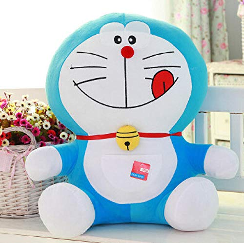 Pluche Doraemon Pop Jingle Cat Cartoon Knuffel Kussen Robot Cat Doll-Food_90cm