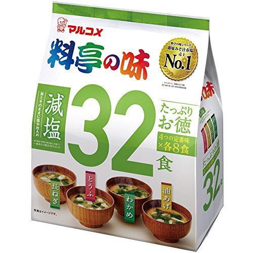 Marukome taste salt-reduced 32 meals of your virtue restaurant plenty