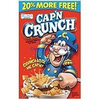 船長クランチ朝食シリアル-20oz-クエーカーオート麦 Cap'n Crunch Breakfast Cereal - 20oz - Quaker Oats
