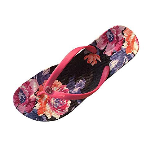 East Majik Blumen Mädchen Flip Flops Strand Hausschuhe Schuhe Sandalen