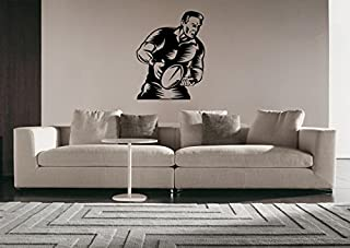 Rugby Football Rugby League Footy the Greatest Game England Australia New Zealand France Tonga Team Sport Wall Sticker Decal Wall Art G3266