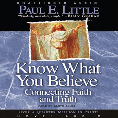 Know What You Believe audiobook cover art