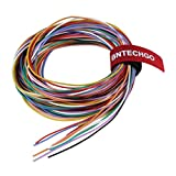 BNTECHGO 28 Gauge Silicone Wire Kit 10 Color Each 10 ft Flexible 28 AWG Stranded Tinned Copper Wire