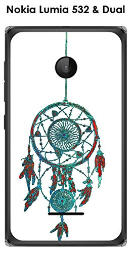 Onozo Cover Nokia Lumia 532& Dual Sensore di Reves Sfondo Bianco