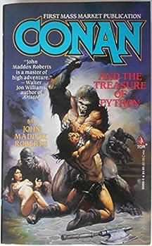 Conan and the Treasure of Python - Book  of the Conan the Barbarian