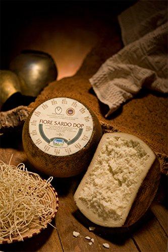 1 kg (1 4 di forma) - Fiore Sardo Dop prodotto dal caseificio Sepi. Il Fiore Sardo è un pecorino semi-stagionato o stagionato, tipico barbaricino, a latte crudo