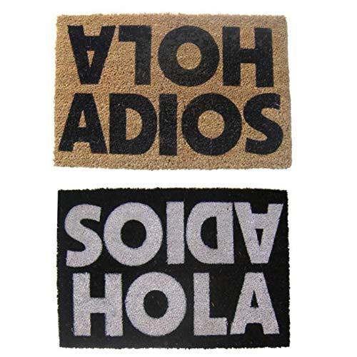 Vidal Regalos Felpudo Antideslizante 40x70 cm Hola Adios x2 Colores