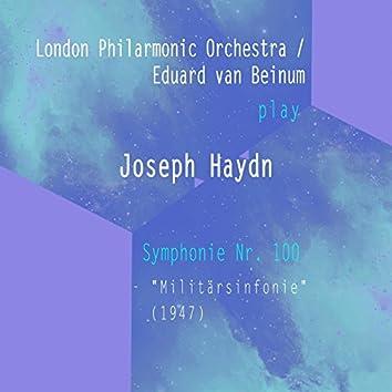 "London Philarmonic Orchestra / Eduard van Beinum play: Josef Haydn: Symphonie Nr. 100 - ""Militärsinfonie"" (1947)"