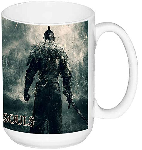 MasTazas Dark Souls 2 II B Taza Grande Ceramica 15 oz ≈ 443 ml