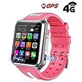 Goglor Kids Smartwatch Phone, Childrens Waterproof SOS Call GSM Sim Touch Screen 4G