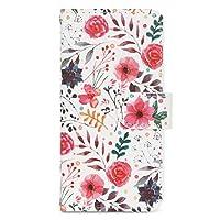 [MINTY] iPhoneSE (第2世代) iPhone8 iPhone7 6s 6 ケース 手帳型 Favori (ファボリ) シリーズ フラワーガーデン 花柄