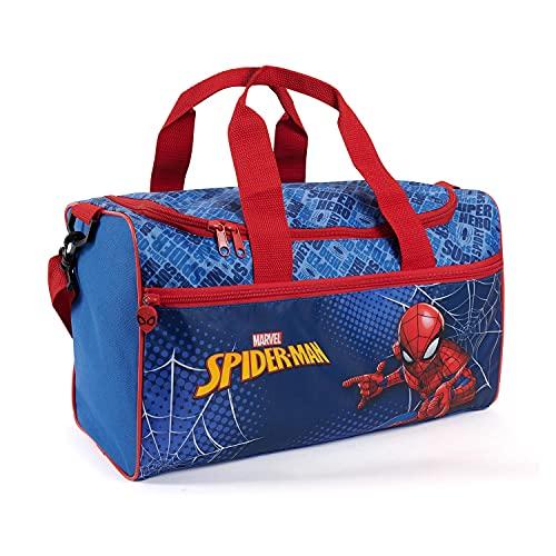 Bolsa Deporte Infantil Spiderman con Bandolera - Mochila Gimnasio para Niño Marvel...