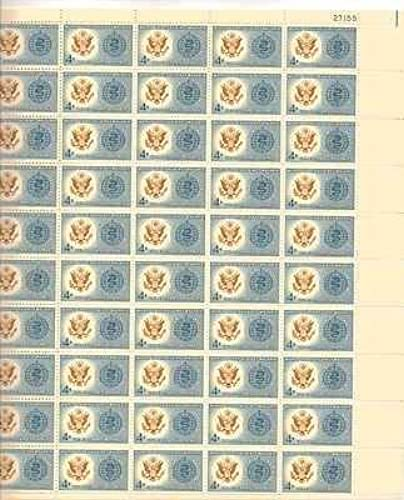 World United Against Malaria Sheet of 50 x 4 Cent Stamps Scott 1194 by USPS