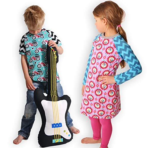 leni pepunkt Schnittmuster Kinder Raglan Shirt in den Größen 50/56-158/164 zum Nähen mit Kurzanleitung und 5 Webetiketten