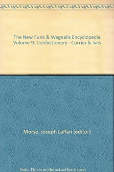 Hardcover The New Funk & Wagnalls Encyclopedia Volume 9: Confectionery - Currier & Ives Book