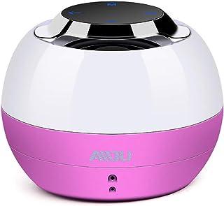 Sxmy Trådlös Bluetooth-högtalare bärbar kort bil minihögtalare mini-subwoofer, rosa