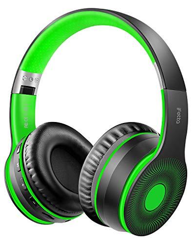 Ifecco Bluetooth Estéreo Auriculares Música Sobre-oído Sonido de alta fidelidad, Bluetooth Banda...