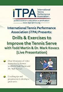 iTPA: Drills & Exercises to Improve the Tennis Serve with Todd Martin & Mark Kovacs (Live Presentation)