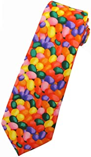 Jacob Alexander Boys' Prep Jellybean Print Easter Neck Tie