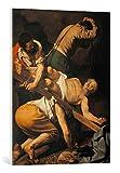 Kunst für Alle Cuadro en Lienzo: Michelangelo Merisi da Caravaggio The Crucifixion of St Peter - Impresión artística, Lienzo en Bastidor, 60x80 cm