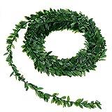 Naliovker 7.5M Artificielle Ivy Guirlande Feuillage Vert Feuilles Simulées De Vigne pour La Cérémonie De Mariage DIY Bandeaux