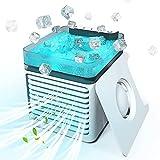 HZIXIXI Ventilador De Aire Frio - Ultra Silencioso Climatizador Evaporativo Silencioso, Bajo Consumo De EnergíA Ventilador Portatil Coche, para RefrigeracióN Silenciosa De La Oficina En Casa