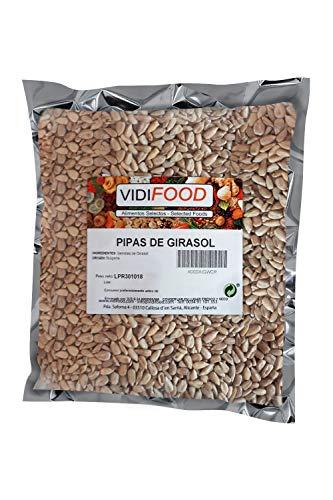Graines de Tournesol - 1kg - Instantanées Pelées et Savoureuses Prêtes à Manger